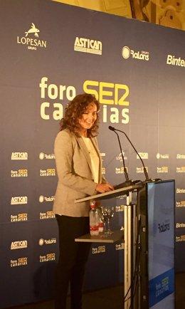 """Chacón intervino con la ponencia """"Movilidad inteligente para hacer región"""""""
