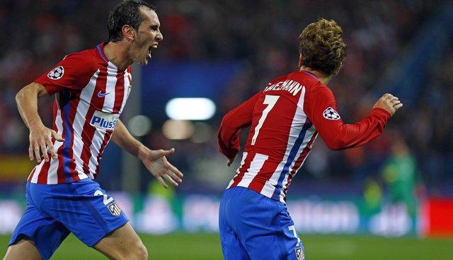 Godín y Griezmann (Atlético de Madrid)
