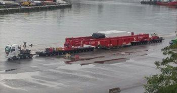 Un transporte de casi cien metros de longitud causará importantes...
