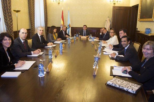 Primera reunión del Consello de la Xunta de noviembre de 2016