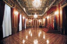 Salón del Trono del Palacio de Navarra.