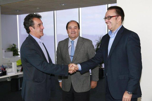 Martín recibe al nuevo director de la Escuela Universitaria de Turismo Altamira