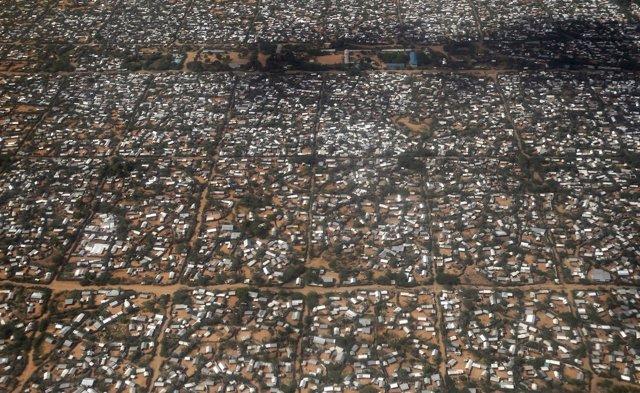 Campamento de refugiados de Dadaab, en Kenia