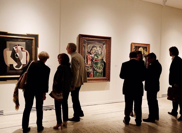La muestra 'Bajo el signo de Picasso'.