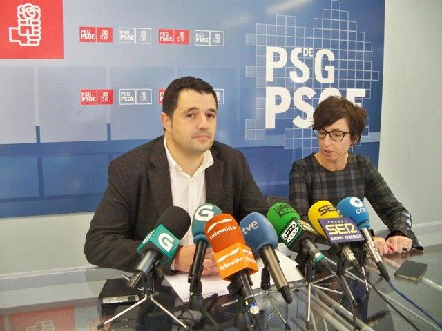 El exportavoz del PSOE en la Diputación de Ourense, Ignacio Gómez