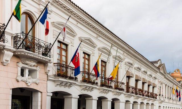 Palacio Municipal de Quito, Ecuador