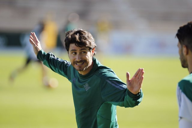 Víctor Sánchez, entrenador del Betis