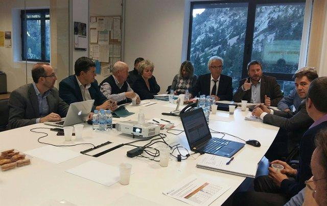 Reunión del Consorcio del Túnel de Bielsa-Aragnouet