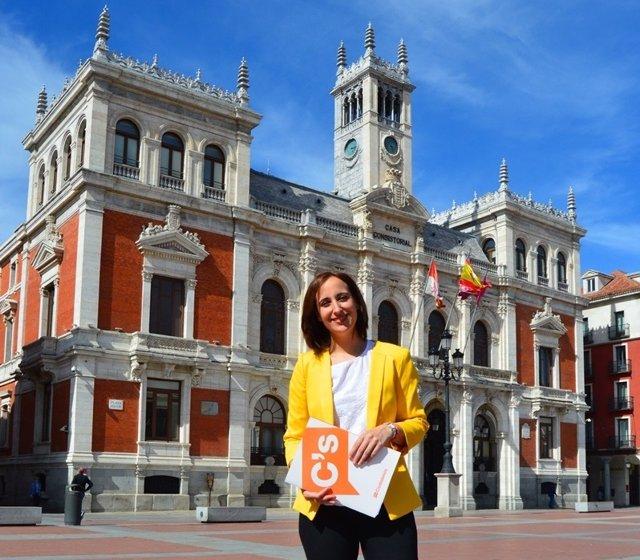 La concejal de Ciudadanos en el Ayuntamiento de Valladolid, Pilar Vicente