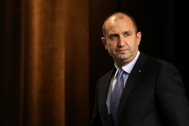 El presidente electo de Rumanía, Rumen Radev