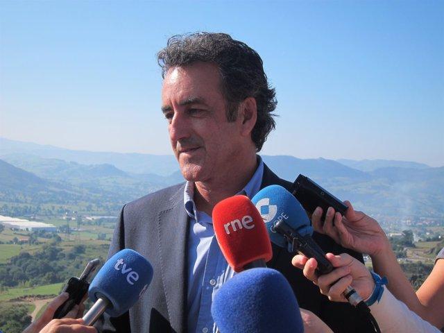 Francisco Martín. Consejero Innovación, Industria, Turismo, Comercio Cantabria
