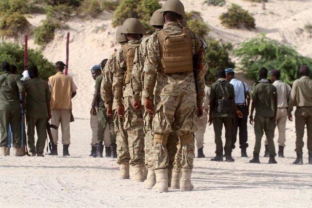 Militares somalíes