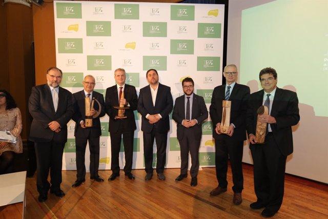 Joan Cavallé y Antón Costas, Premios IEF a la Excelencia Financiera