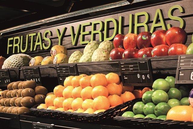 Supermercado El Corte Inglés frescos