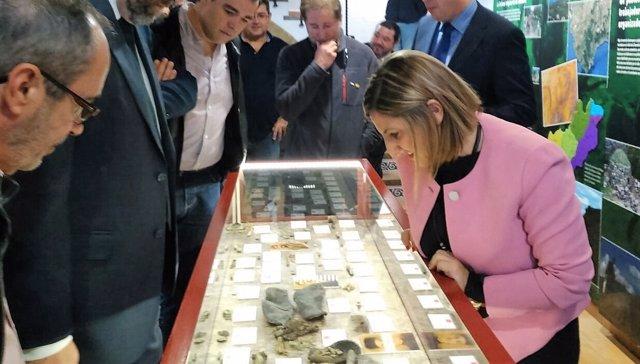 Irene García visita 'La Sauceda'