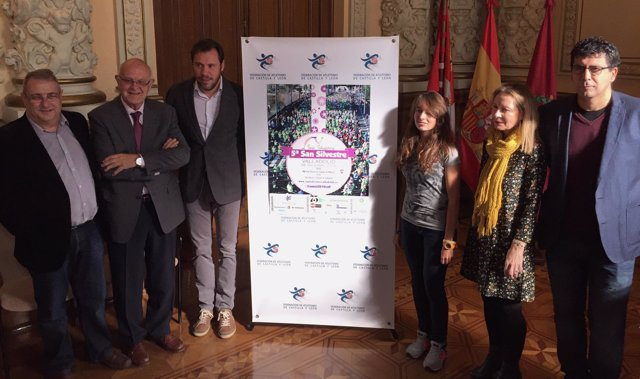Presentación de la San Silvestre de Valladolid