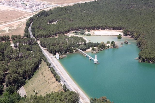 Embalse del Cubillas, en Granada
