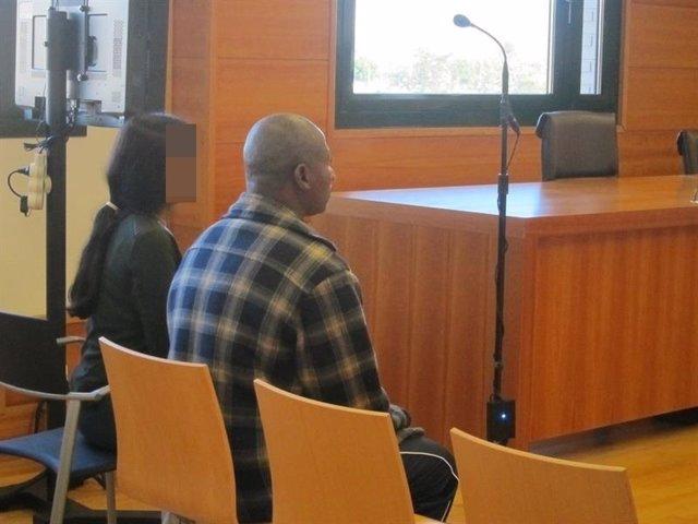 El acusado en el juicio celebrado en Castellón