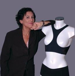 Doctora Elisa Fernández, creadora del primer sujetador antiarrugas