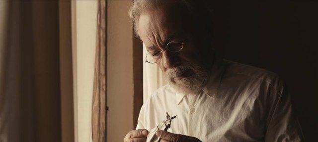 El actor José Luis Gómez da vida a Unamuno en 'La isla del viento'