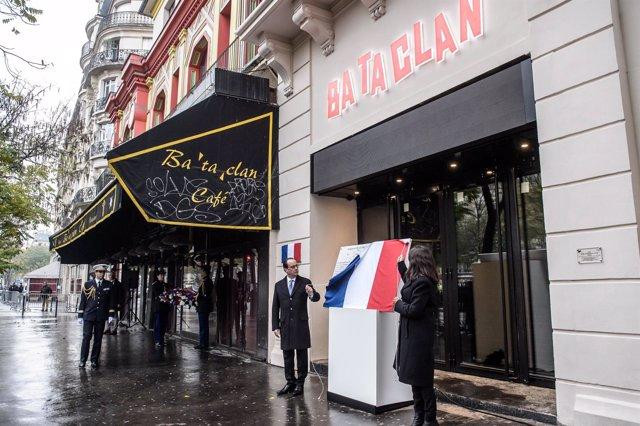 Homenaje a las víctimas de París un año después de los atentados