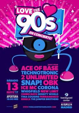 Love The 90S, El Festival De La Década De Los 90 Que Madrid Necesitaba