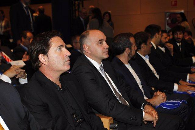 Xavi Pascual y Pablo Laso