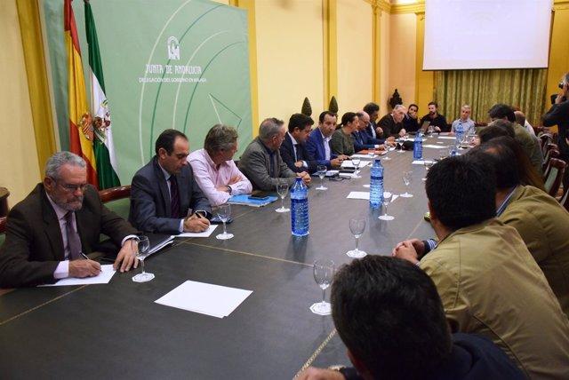 Reunión trasvase Iznajar