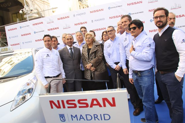Entrega de taxis eléctricos en Madrid