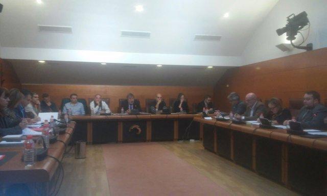 Trabajadores  en comisión Ecomasa