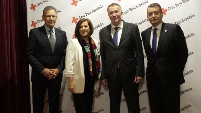 Entrega de los Premios 'CREA+' 2016 de Cruz Roja en Andalucía
