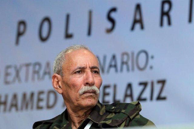 El secretario general del Frente Polisario, Brahim Ghali