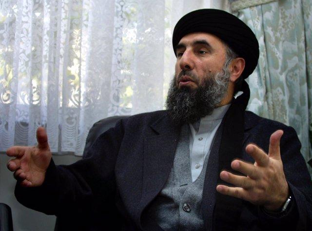 Gulbuddin Hekmatyar, líder de Hezb-e-Islami