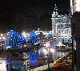 Alumbrado navideño, luces de navidad Oviedo