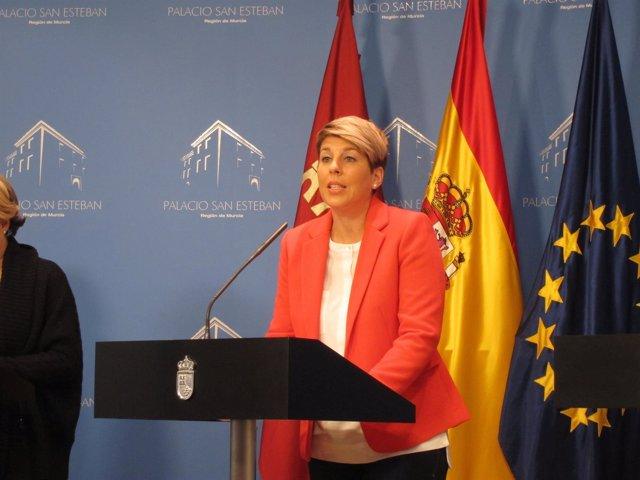 La portavoz del Gobierno regional, Noelia Arroyo