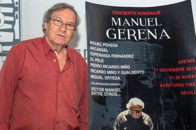 Homenaje a Manuel Gerena en Fibes