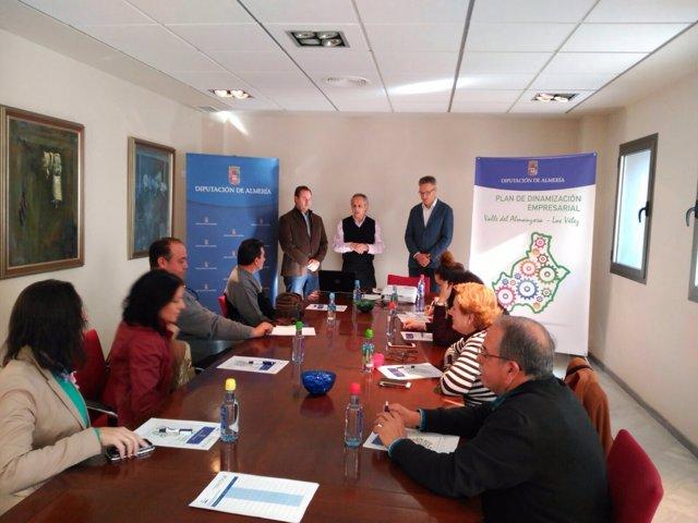 La Diputación organiza una última jornada para pymes en Almanzora-Los Vélez.
