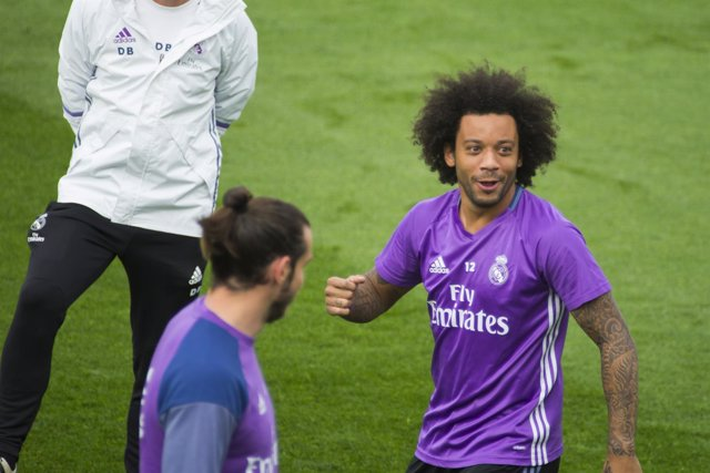 Marcelo y Bale (Real Madrid)