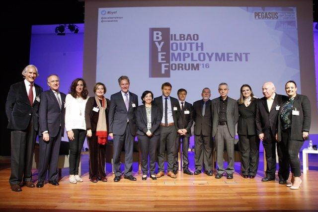 III Foro Internacional De Empleo Juvenil BYEF 2016 Bilbao, Miércoles 16 A Las 11