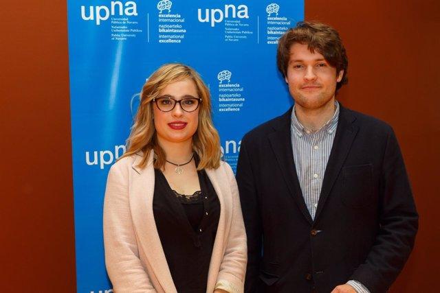 Marta Cildoz y Deyo Maeztu, los ganadores del certamen.