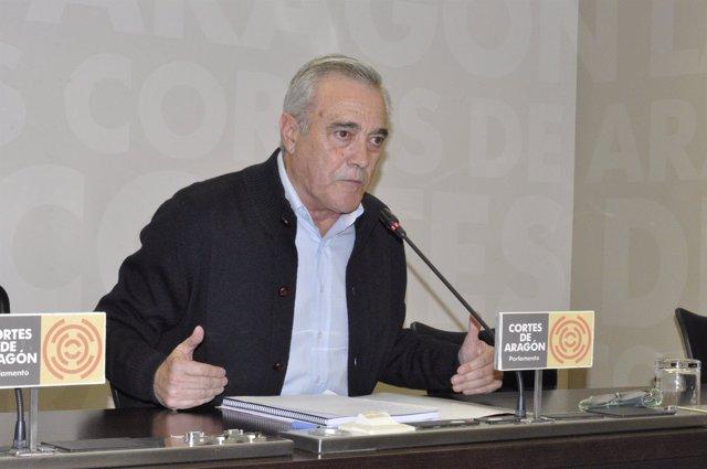 El portavoz del PSOE en las Cortes de Aragón, Javier Sada