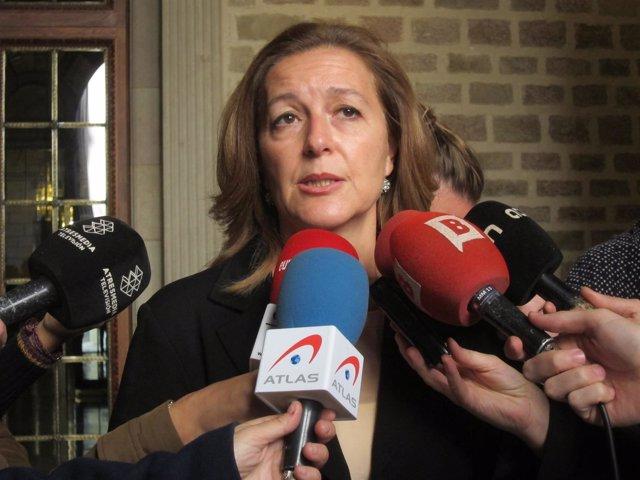 La líder de C's en el Ayuntamiento de Barcelona, Carina Mejías