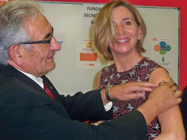 García se pone el tatuaje de la Campaña