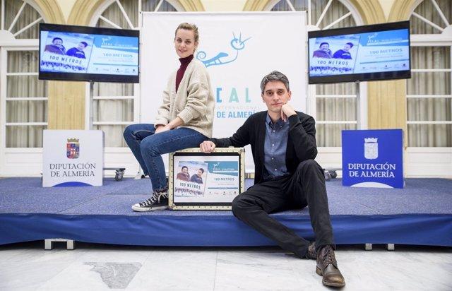 Marcel Barrena y Alba Ribas han presentado 'Cien metros' en Almería.