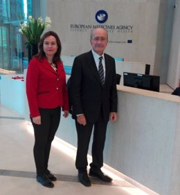 De la Torre y Martín Rojo se reunen con responsables de Agencia del Medicamento
