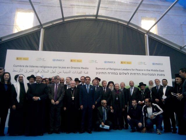 Cumbre de líderes religiosos de oriente medio en Casa Mediterráneo, Alicante