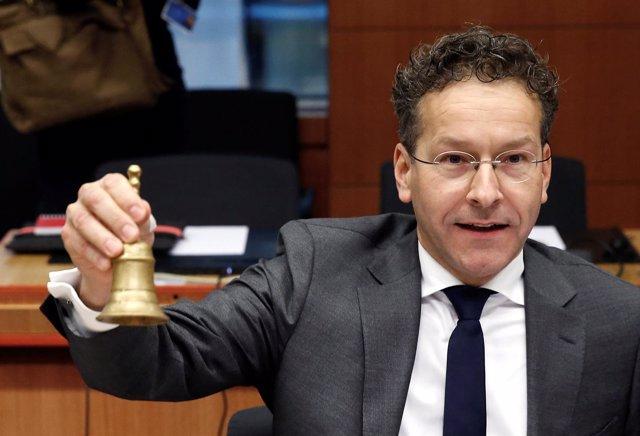 El presidente del Eurogrupo, Jeroen Dijsselbloem