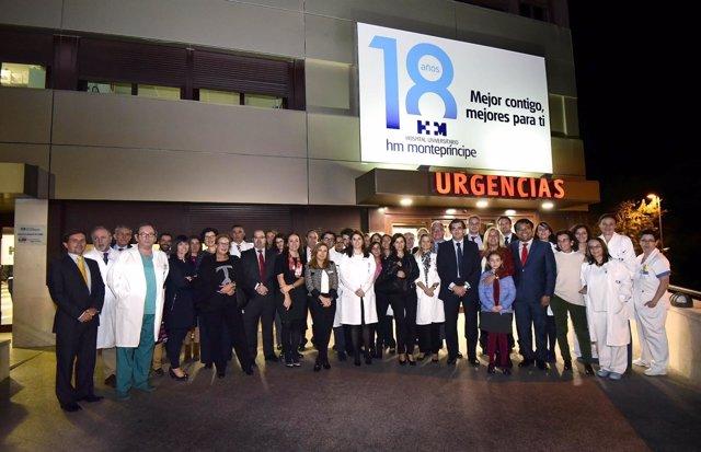 18 Aniversario Del Hospital HM Montepríncipe