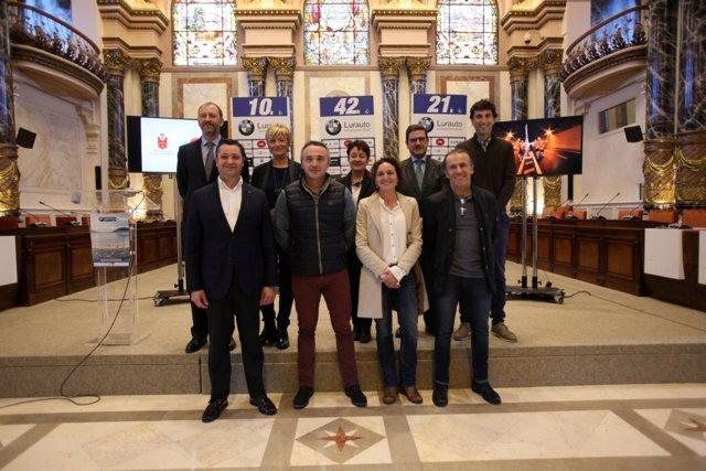 Presentación de la 39 Zurich Maratón de Donostia