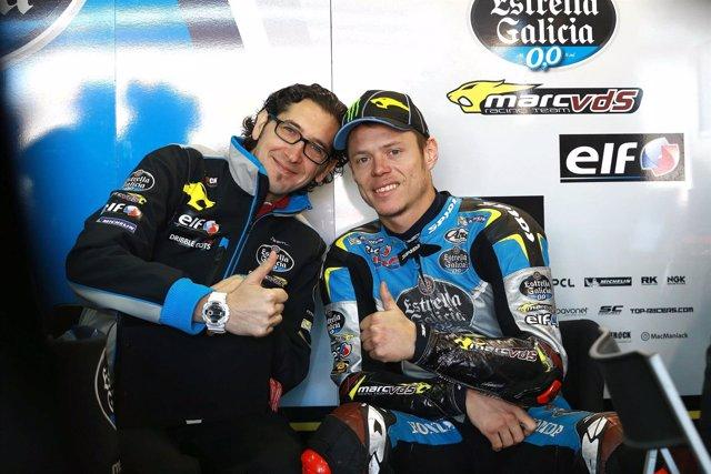 Tito Rabat, piloto español de motociclismo